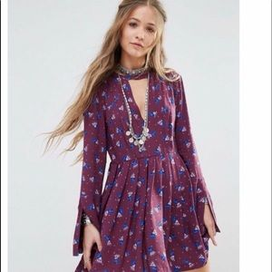 Free people tegan Mini Dress Size 2